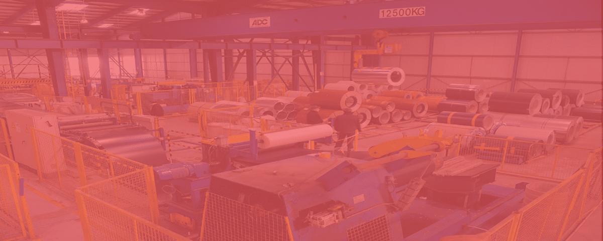 Entrepôt fabrication tôles